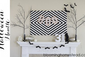 Featured Halloween Mantle at Blooming Homestead copy