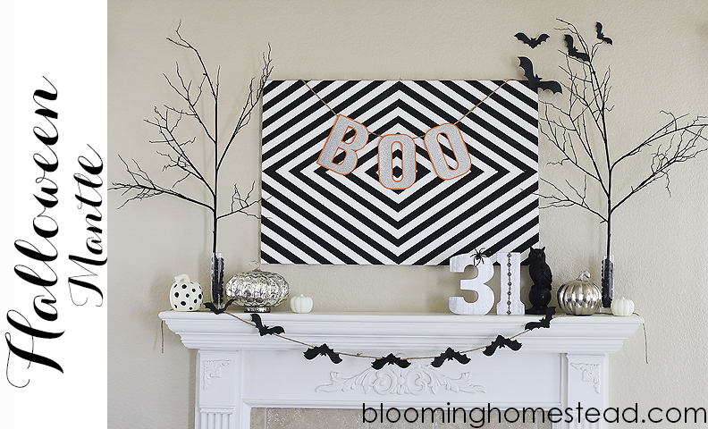 Halloween Mantle & Decor