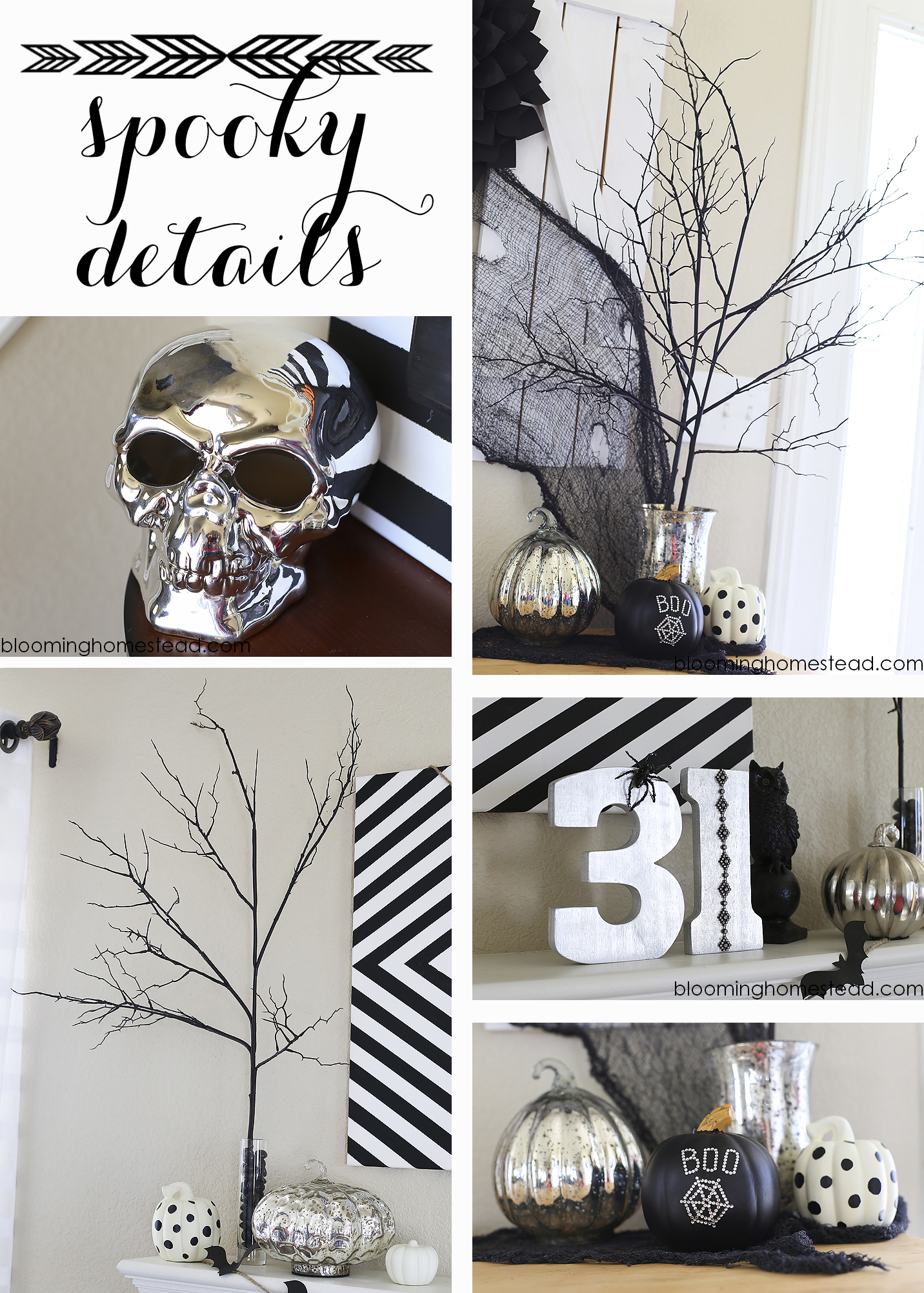 Spooky Halloween Decor #diy #halloween #halloweendecor