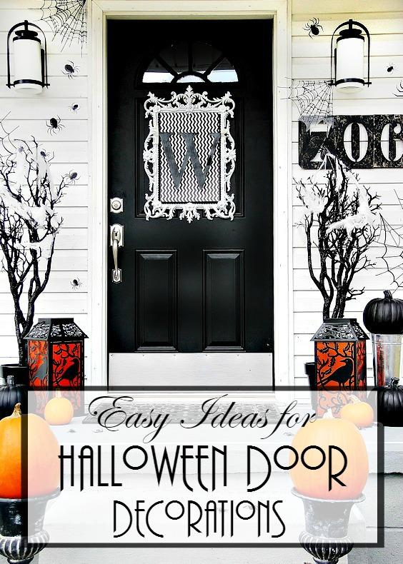 easy-ideas-for-Halloween-door-decorations