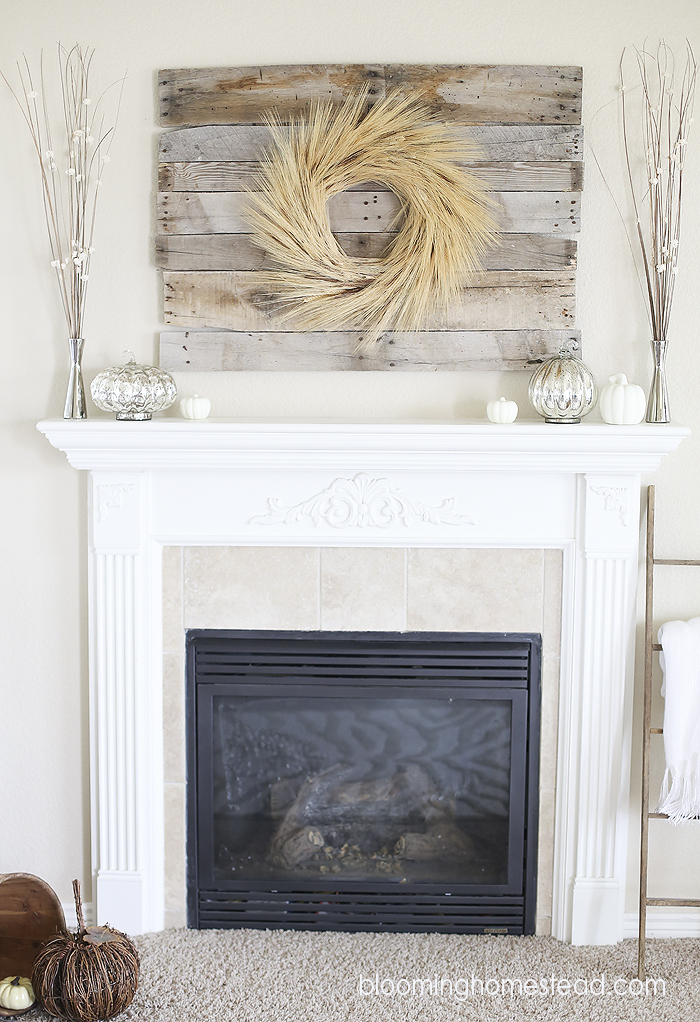 1Fall Mantle by Blooming Homestead