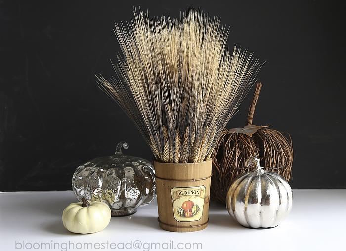 Fall Wheat Centerpiece