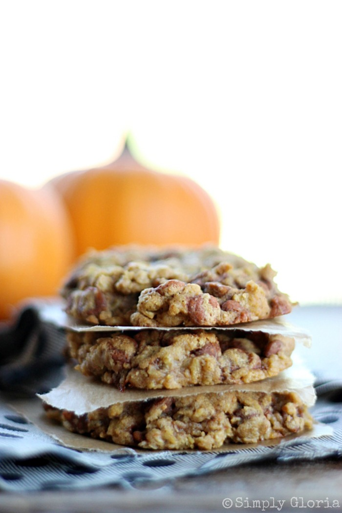 Pumpkin-Cinnamon-Oatmeal-Cookies-with-SimplyGloria.com-pumpkin