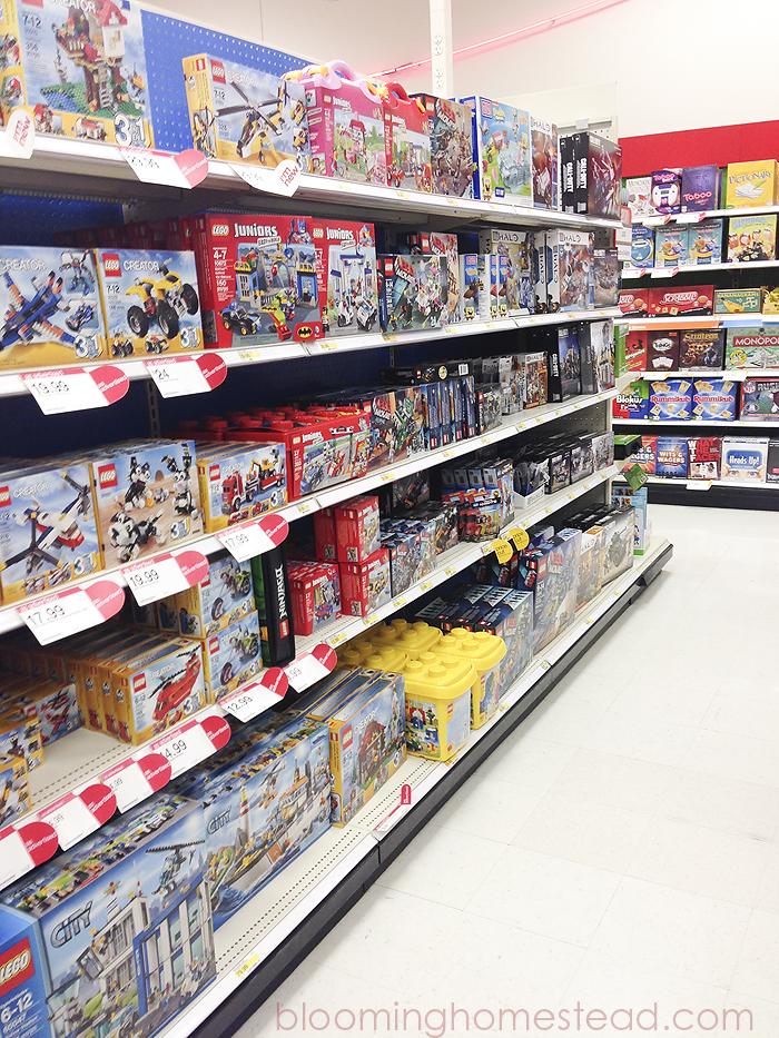 Target store isle