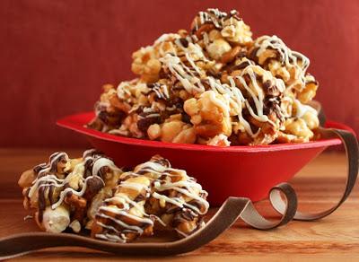 fancy caramel+popcorn+cooking classy