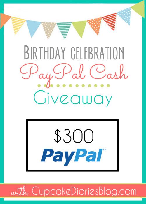 $300 Cash Giveaway!