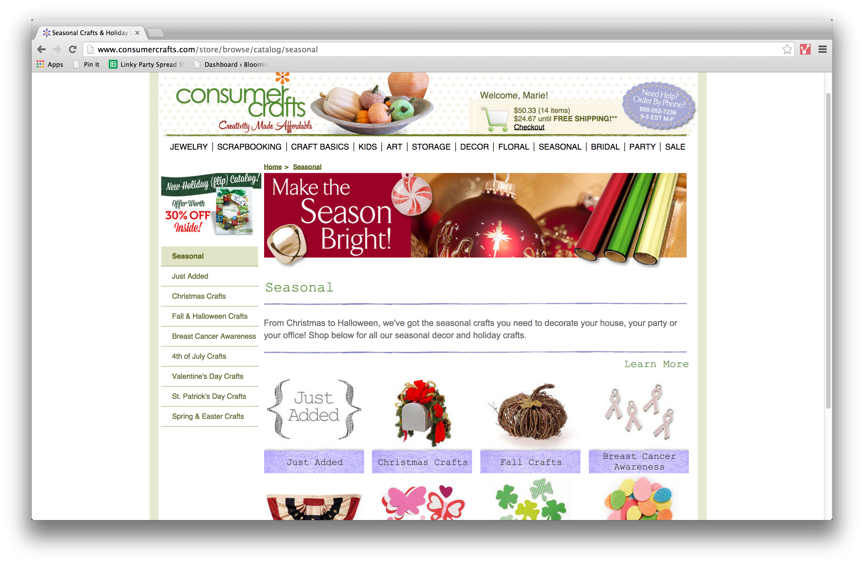 Crafting with ConsumerCrafts.com