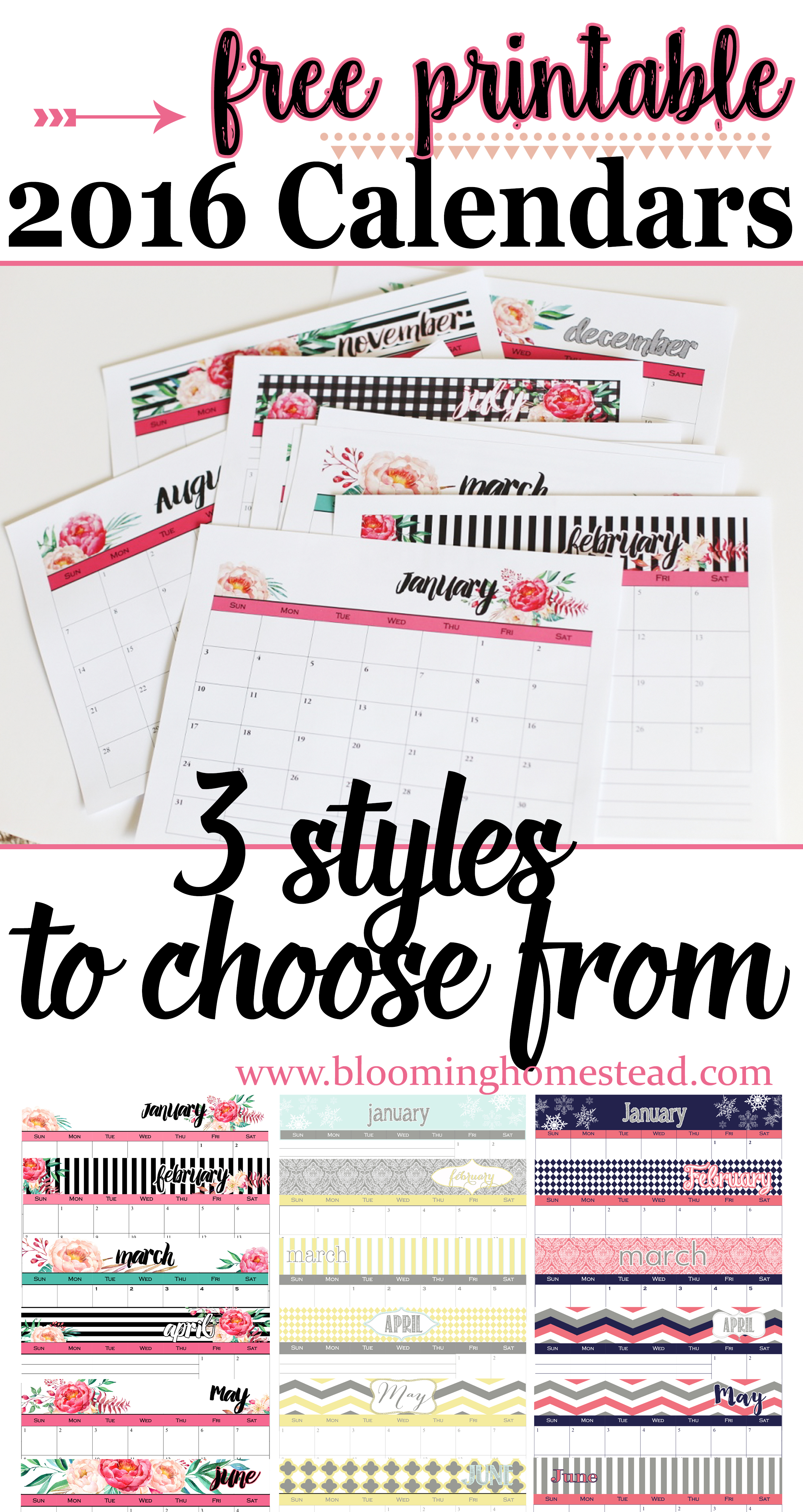 Home organization printables page 4 of 4 blooming for Free homestead