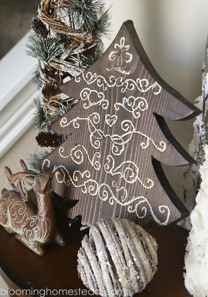 DIY Engraved Wood Tree by Blooming Homestead1
