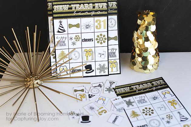 New Year's Bingo Printable