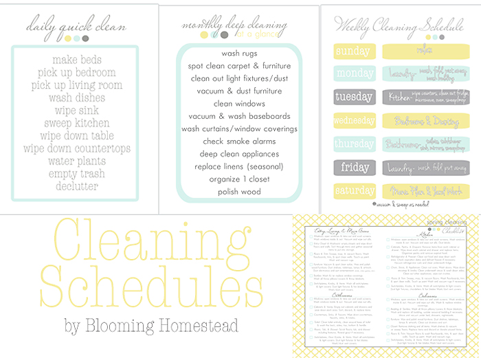 cleaningschedules