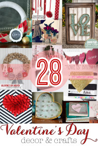Check out these 28 awesome valentine decorations and crafts that you must add to your to do list!