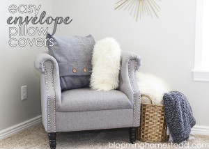 Easy Envelope Pillow Covers featuring in Joanns Winter Look Book