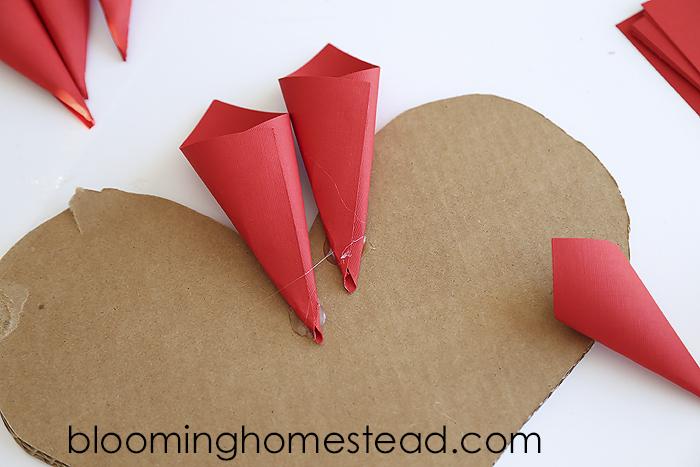 Glue on paper cones