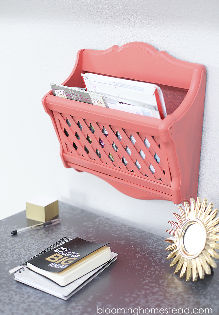 Mail organizer Makeover