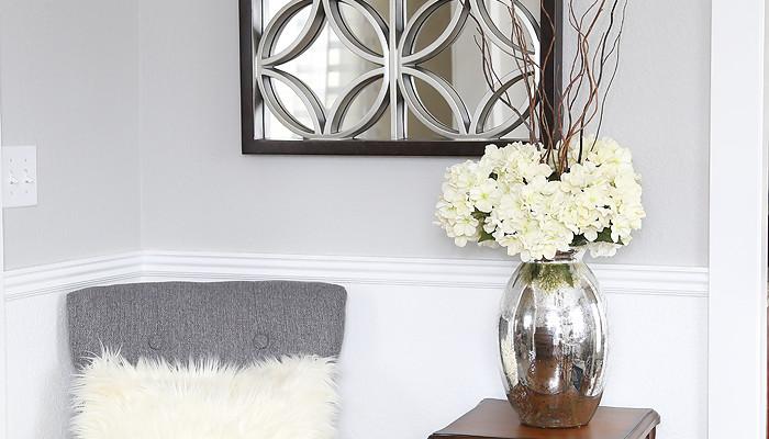 Gable Wall Mirror at Blooming Homestead