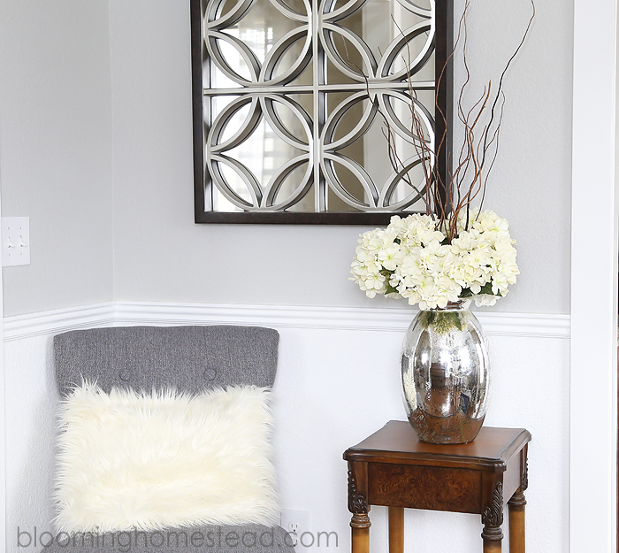 Gable Wall Mirror at Blooming Homestead
