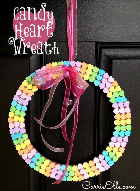 VALENTINESCandy-Heart-Wreath-Craft