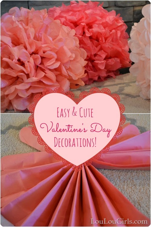 Valentine\'s Day Decor & Craft Ideas - Blooming Homestead