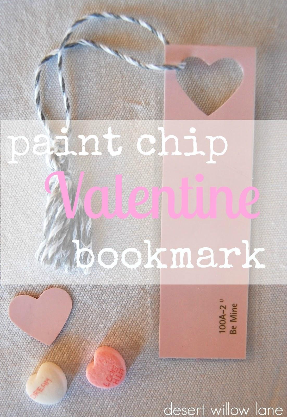 VALENTINESvalentinebookmark