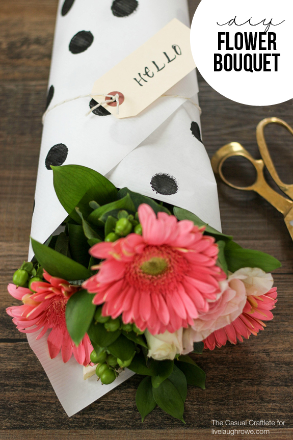 CCDIY-Flower-Bouquet-with-stamped-paper-packaging-by-The-Casual-Craftlete-for-Live-Laugh-Rowe
