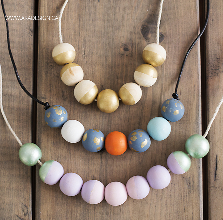 CCmulti-colored-painted-wood-bead-necklaces