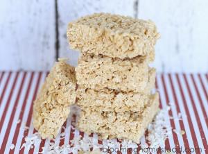 Coconut Rice Krispie Treats1