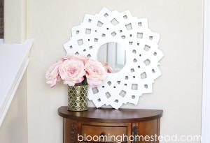 DIY Sunburst Mirror1