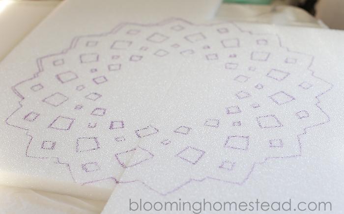 foam project stencil