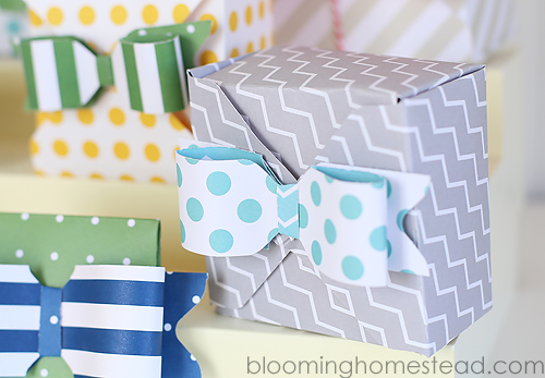 DIY Birthday Countdown Boxes and a fun idea for new birthday celebration tradition.