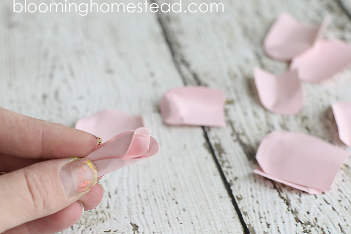 Easy to follow DIY Paper Flowers tutorial by Blooming Homestead