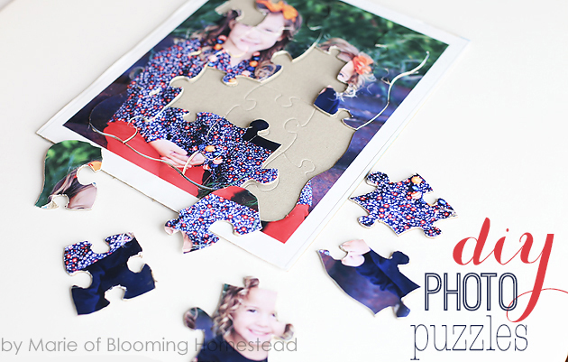 DIY Photo Puzzles by Blooming Homestead1