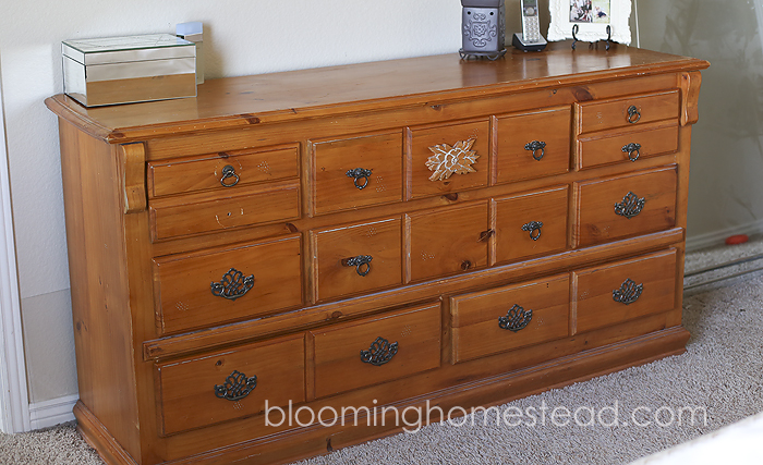 Dresser Before at Blooming Homestead