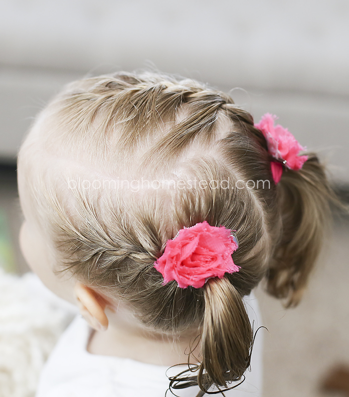 Girl Hairdo by Blooming Homestead