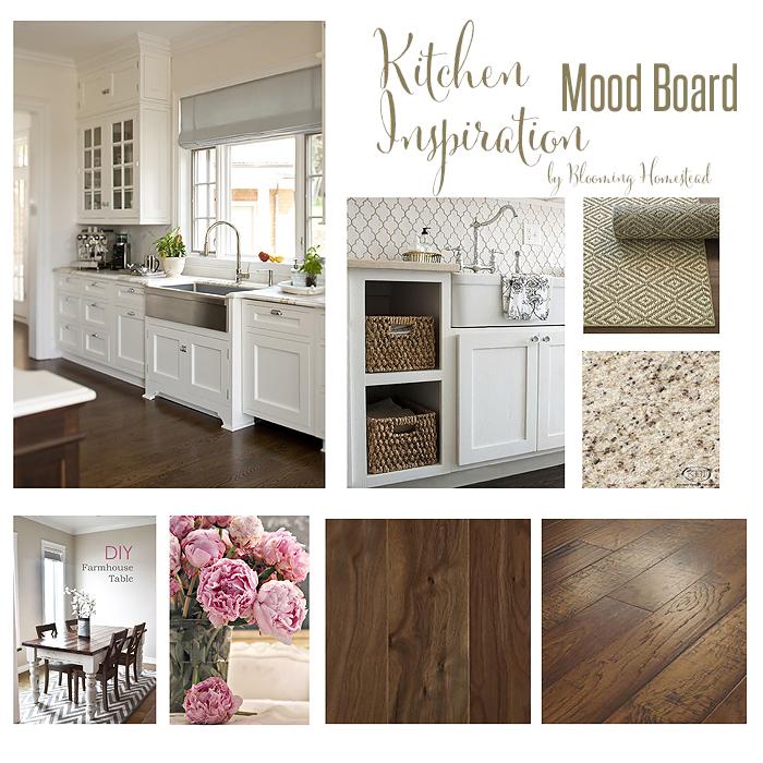 Kitchen Floor Update Blooming Homestead