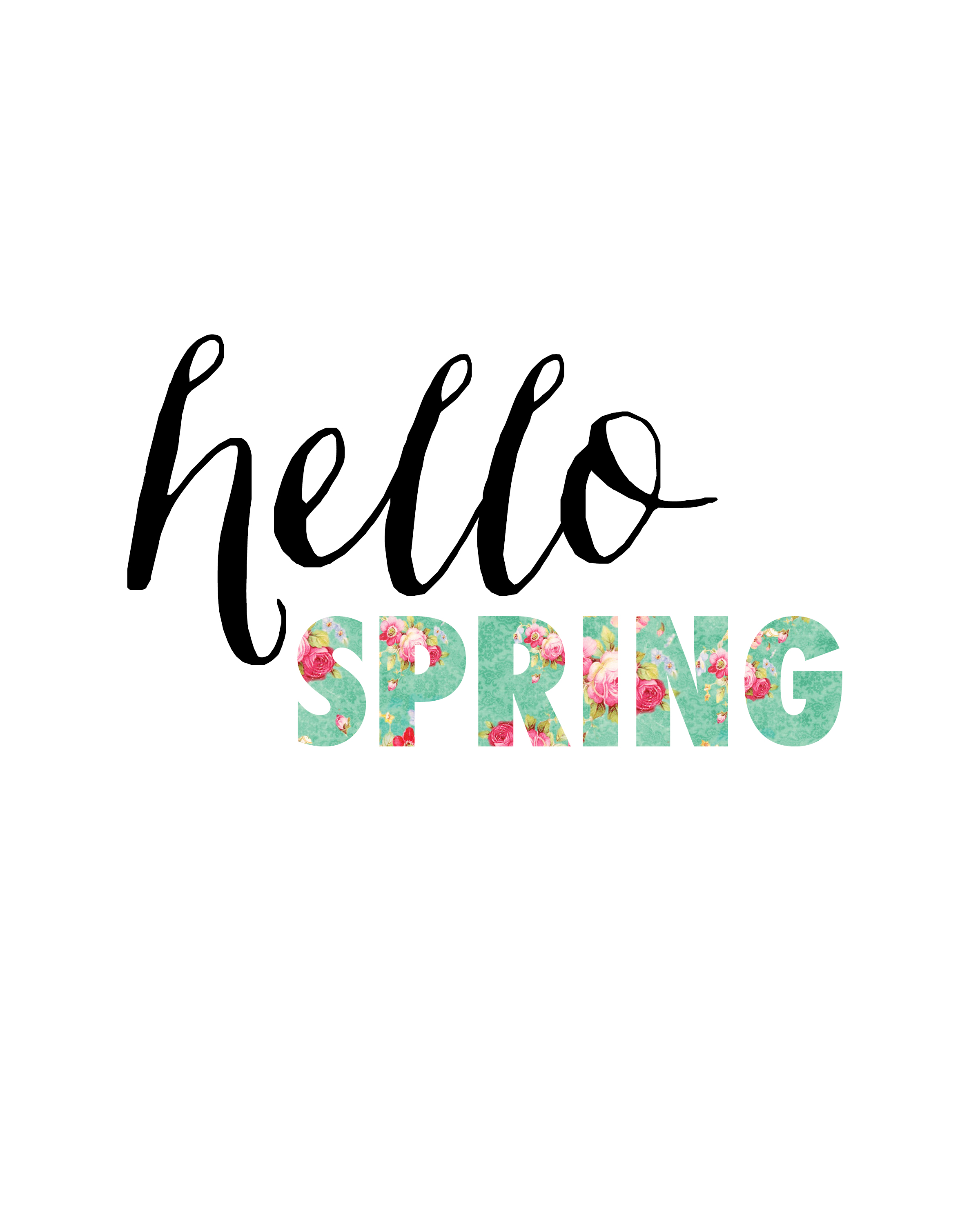 hello Spring by Blooming Homestead