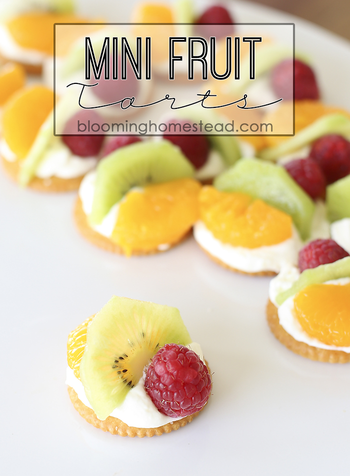 Mini Fruit Tarts by Blooming Homestead