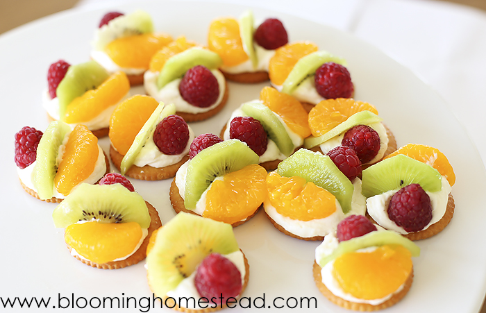 Mini Fruit Tarts