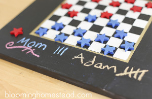 Fun and easy tutorial on how to make your own diy chalkboard, perfect for this lazy summer days!