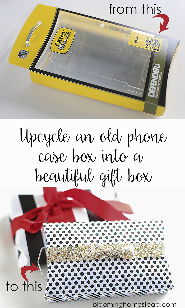 Scrapbook paper case - Use Scrapbook Paper To Easily Transform Old Boxes Into Beautiful Gift Packages