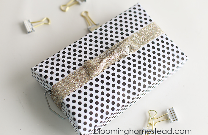 Upcycled DIY Gift Box