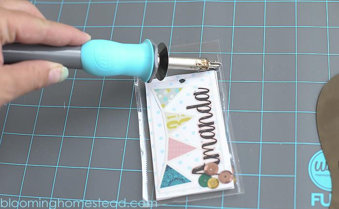 DIY Backpack Shaker Tags