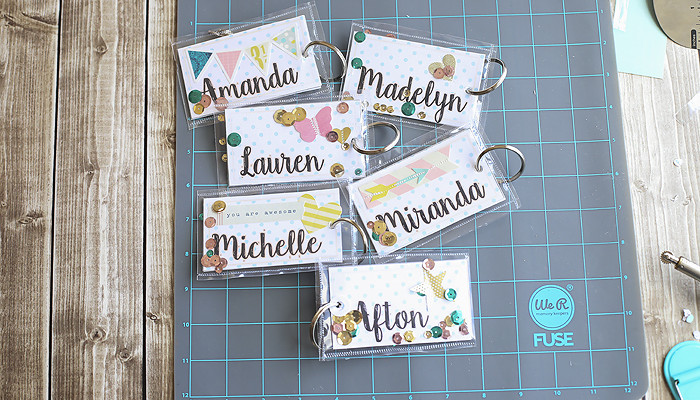 DIY Backpack Tags using Fuse tool with video tutorial copy