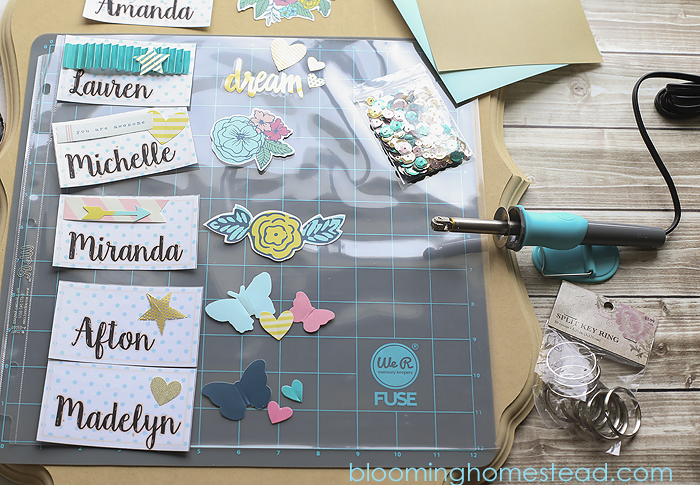 Tool Tags: DIY Backpack Tags With Video Tutorial