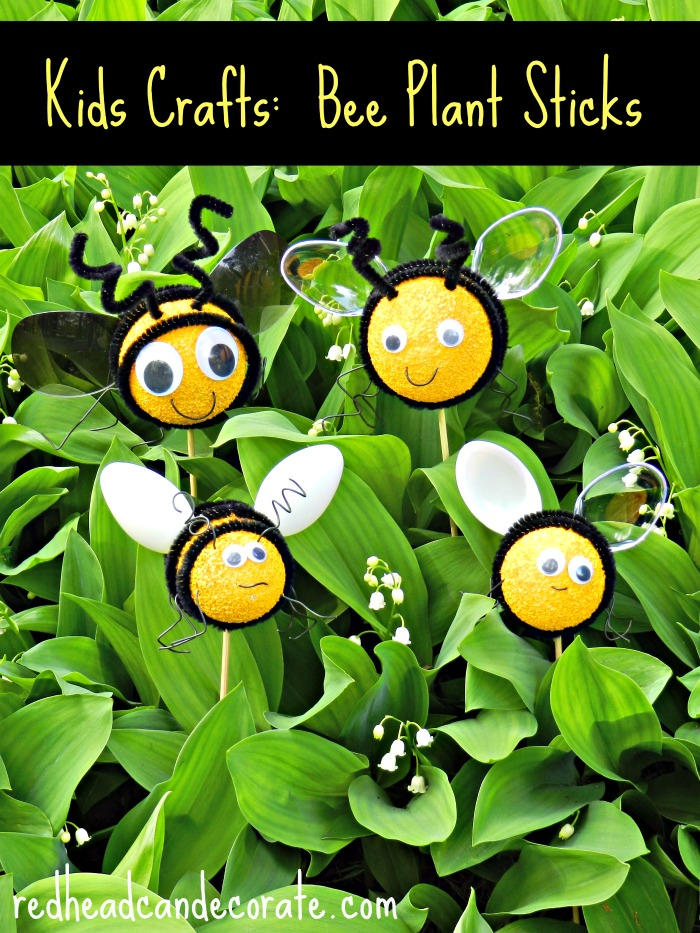 Easy-Kids-Craft-Bee-Plant-Sticks