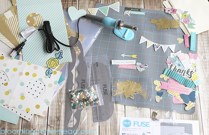 Fuse Kit by We R Memory Keepers by Blooming Homestead