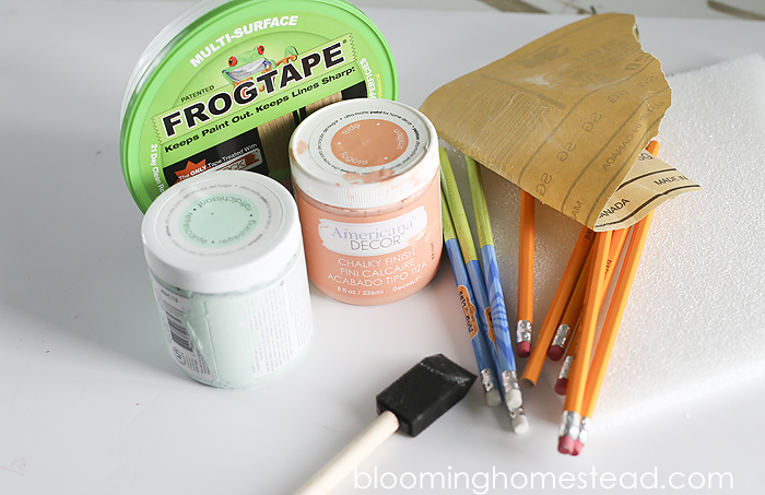 Easy diy chalk paint pencils, with a full tutorial showing how you can transform ordinary pencils into custom beautiful colors.