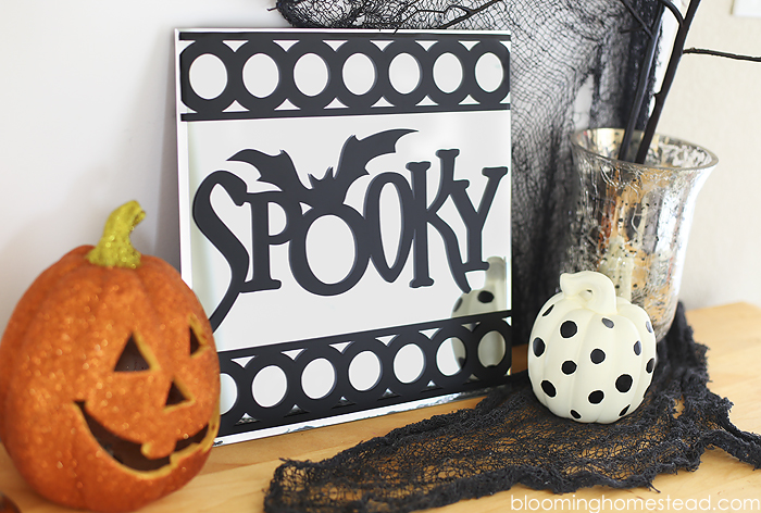 Spooky Halloween Mirror