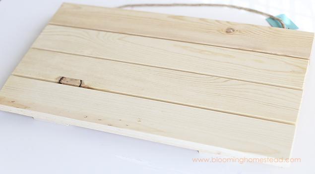 Wood Slat Sign