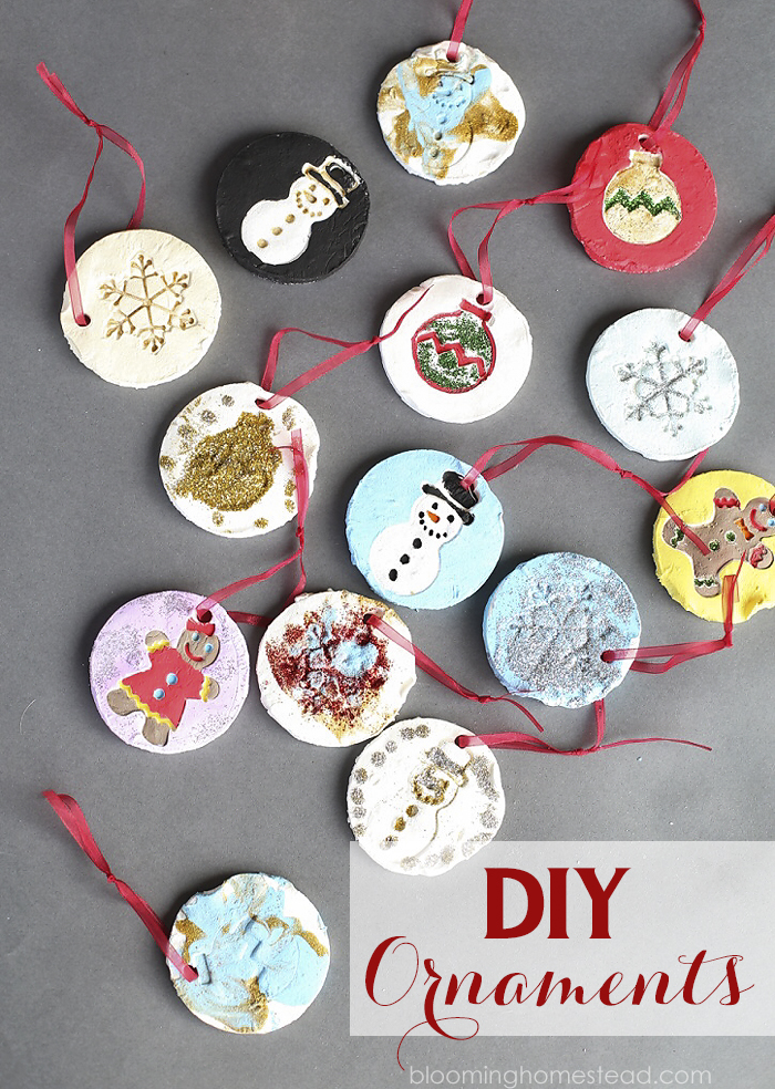 These diy ornaments are easy to make and are perfect for those holiday family traditions. So simple to make for Christmas.